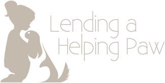 Lending a Helping Paw logo